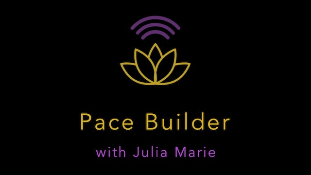 Pace Builder Jog with Julia Marie