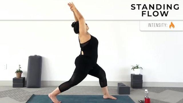 Andrea : Beginner's Yoga - Stabilizing Standing Flow