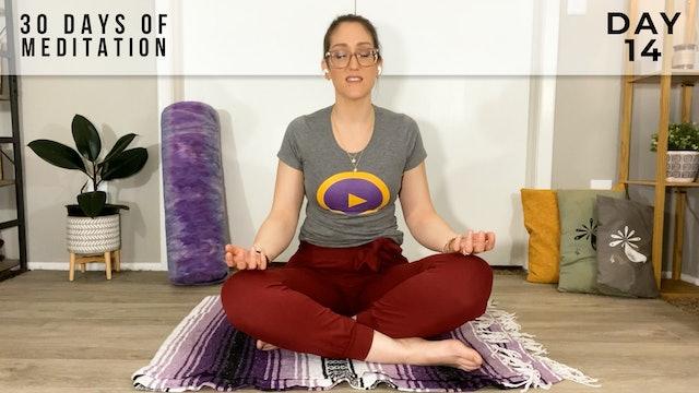 30 Days of Meditation - Day 14