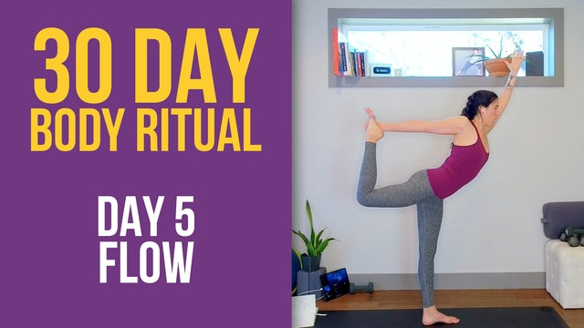 30 Day Body Ritual Challenge: Day 5