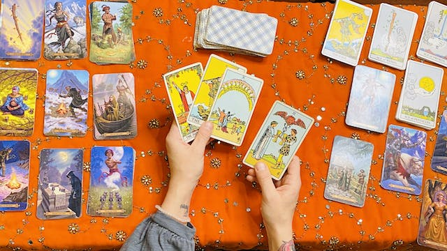 The Art of the Tarot: A Card Reading Course Day One