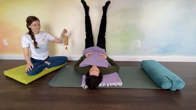 Calm + Comfort Restorative Yoga with ...