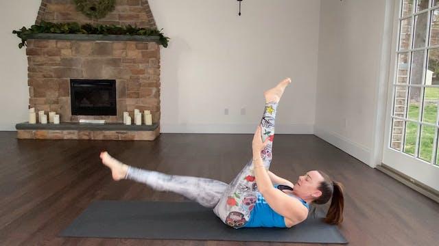 Intermediate pilates with Diana