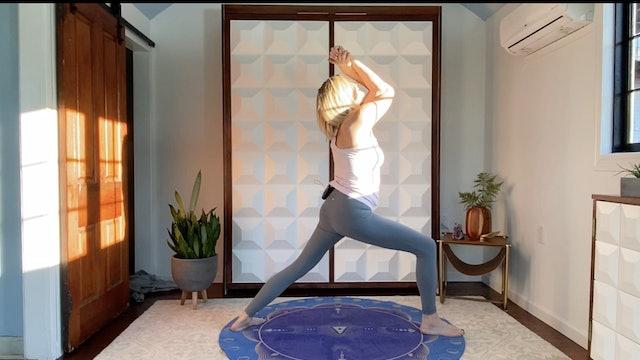 Rhythmic Flow with Sound Healing Shavasana with Liz