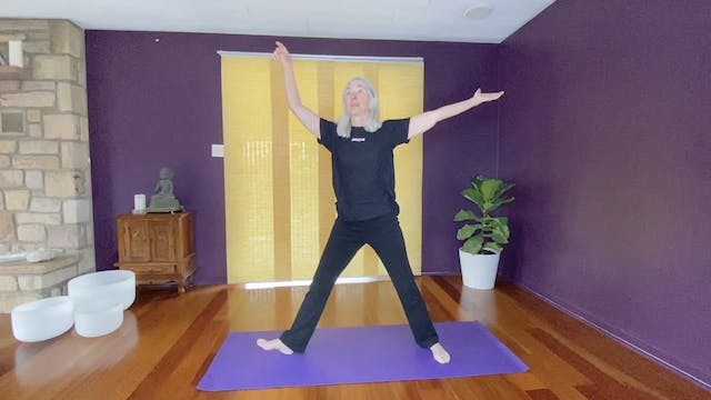 Yoga to Align and Strengthen with June