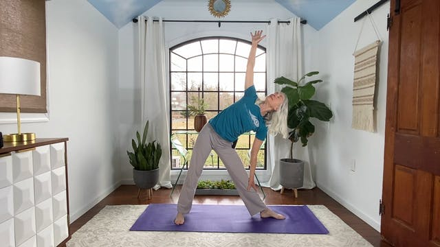 Moon Salutation Flow with June
