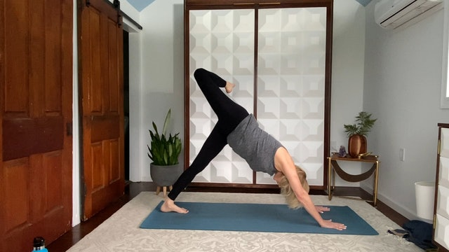 Rise and Shine or Anytime Sun Salutations with Liz
