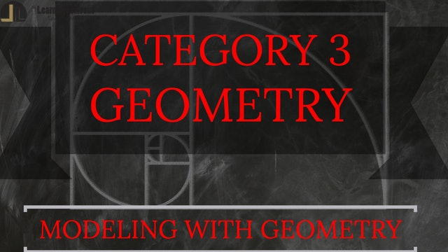 E. Modeling with Geometry