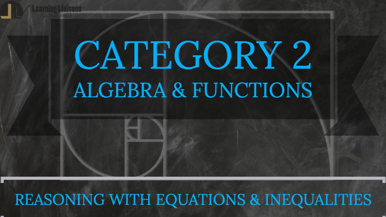 B. Reasoning with Equations and Inequalities