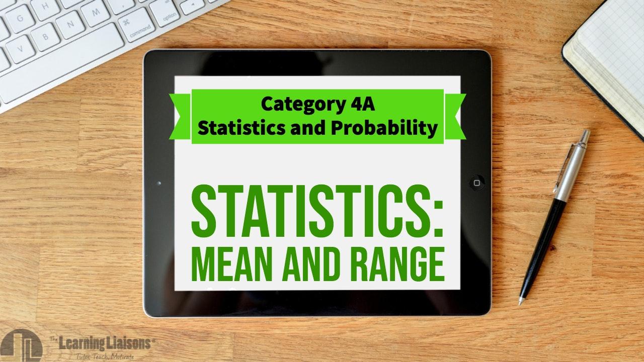 Update 3: Statistics (Mean & Range)