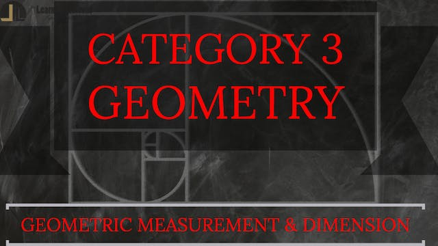 D. Geometric Measurement & Dimension