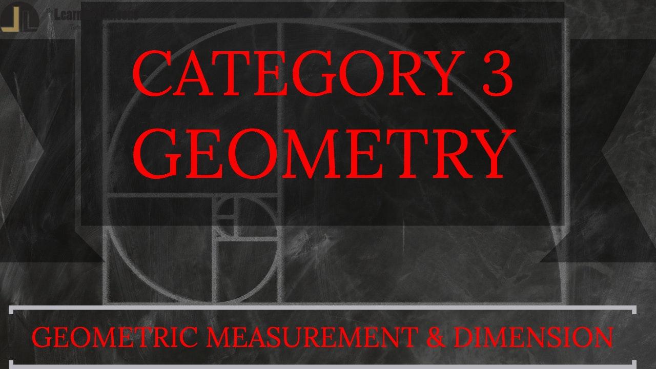 D. Geometric Measurement & Dimension