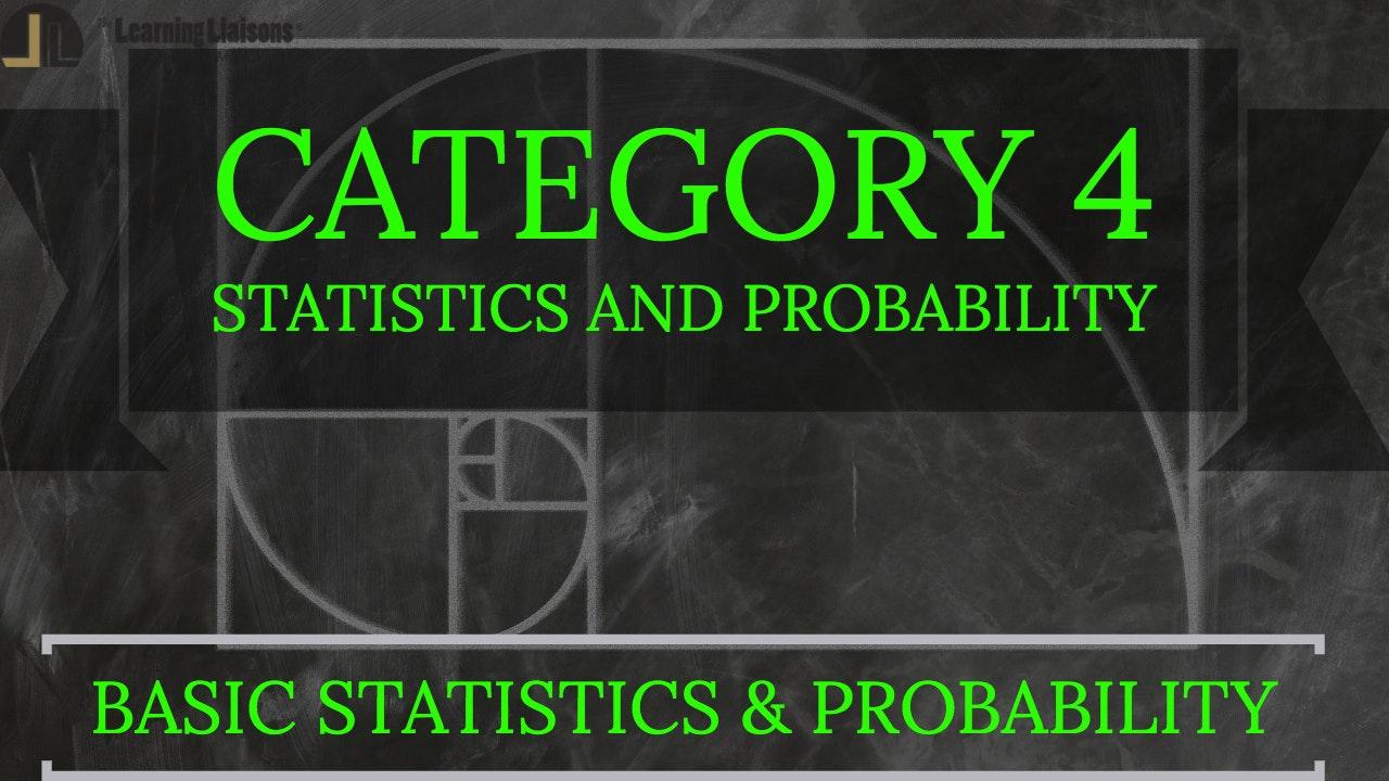 A. Basic Statistics and Probability