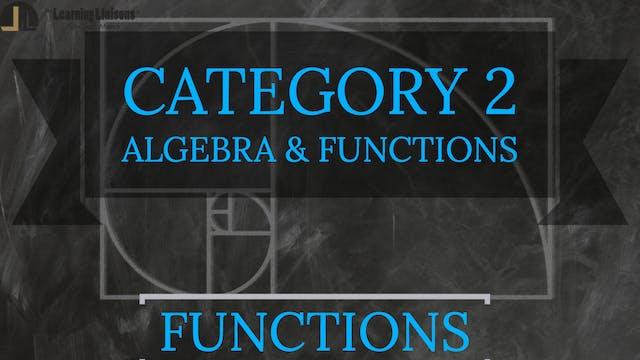 C. Functions