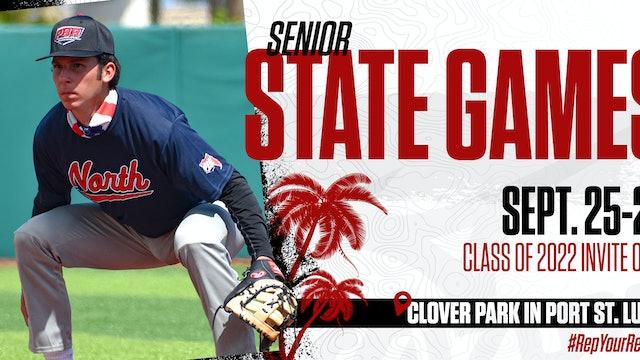 2021 PBR Florida - Senior State Games - North/South - 7-Inning Game