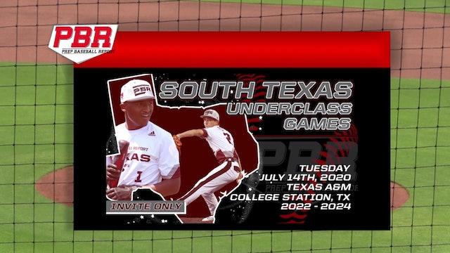 7/14/2020 - South Texas Underclass Games (G1: T1-B3)