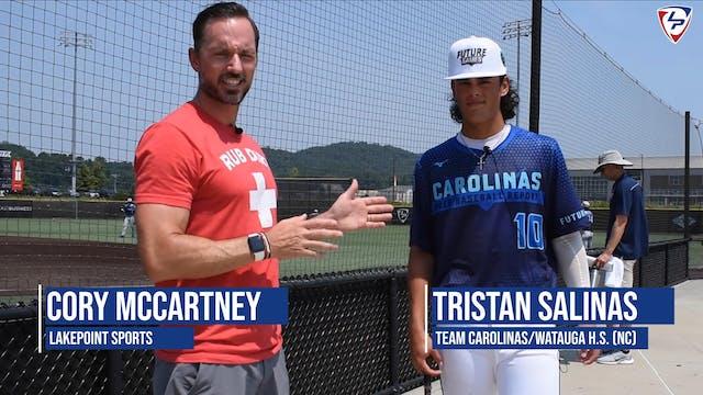PBR North Carolina's Tristan Salinas ...