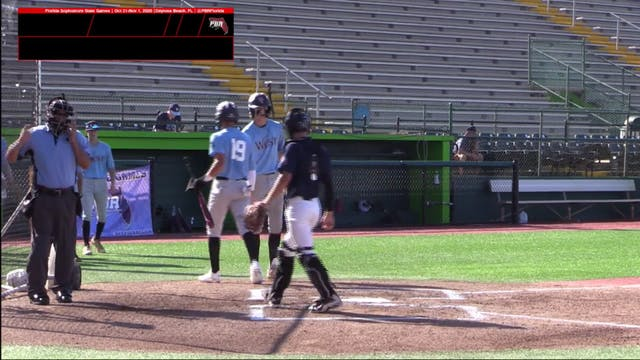 10/31/2020 - Sophomore State Games WvN