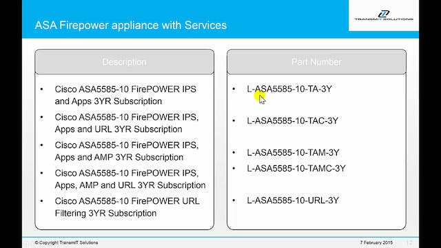 Module 2- Adding Cisco Firepower Services to Existing ASA