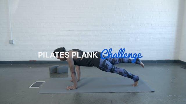 Pilates Plank Challenge