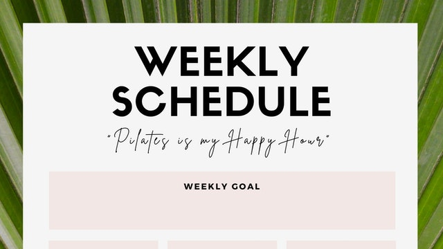 Custom Wellness Calendars