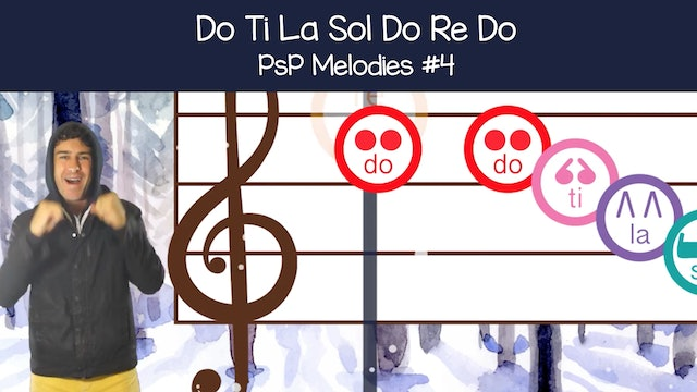 Do Ti La Sol Do Re Do (PsP Melodies #4)