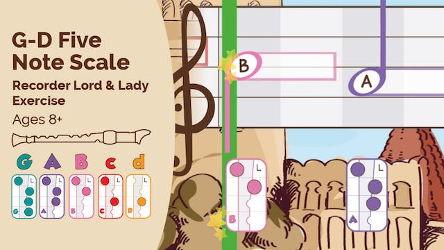 G to D Five Note Scale (Lord & Lady -...