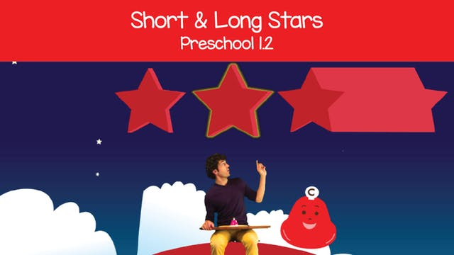 Short and Long Stars (Preschool 1.2)