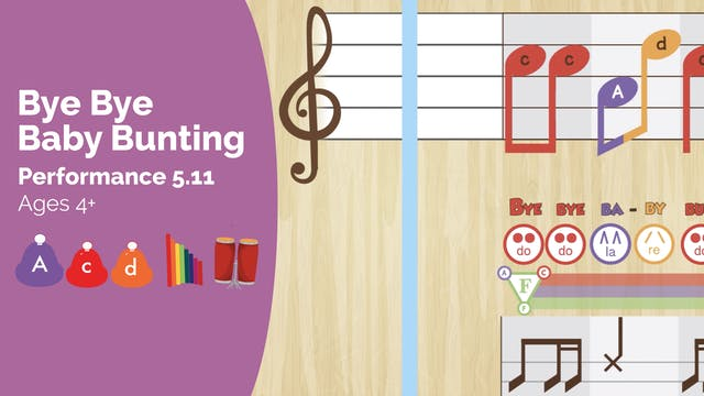 Baby Bunting -- La Do Re -- (Performa...