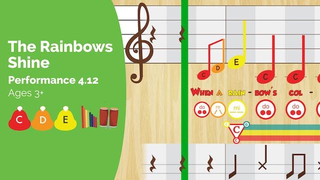 Rainbows Shine -- Do Re Mi -- (Performance Prodigies)