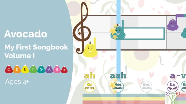 Avocado - Performance - My First Songbook