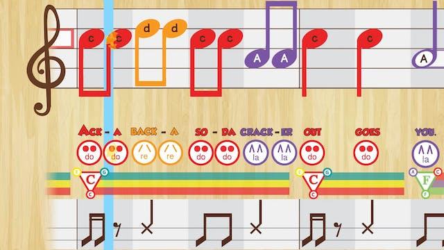 Acka Backa -- LA Do Re -- (Performanc...