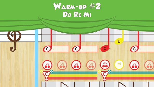 Warm Up #2 -- Do Re Mi -- (Performanc...