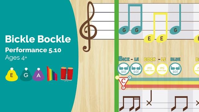 Bickle Bockle -- Mi Sol La -- (Perfor...