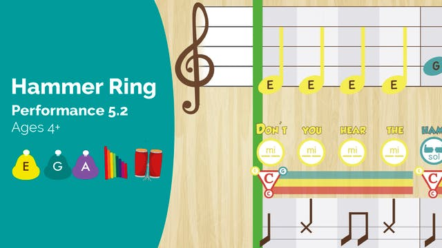 Hammer Ring -- Mi Sol La -- (Performa...