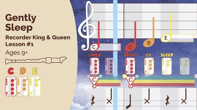 Gently Sleep CDE - Recorder - King_Queen