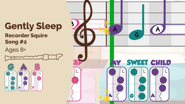 Gently Sleep (Squire -- Recorder Prodigies -- Song 2)