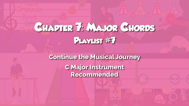 Chapter 7: Major Chords
