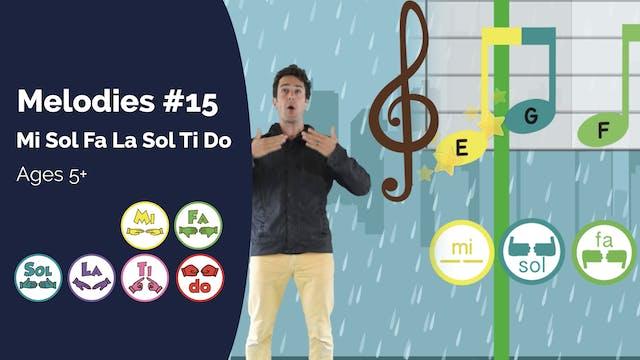 Mi Sol Fa La Sol Ti Do (PsP Melodies ...