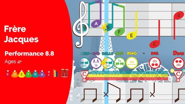 Frere Jacques - C Major Songs - Performance Prodigies