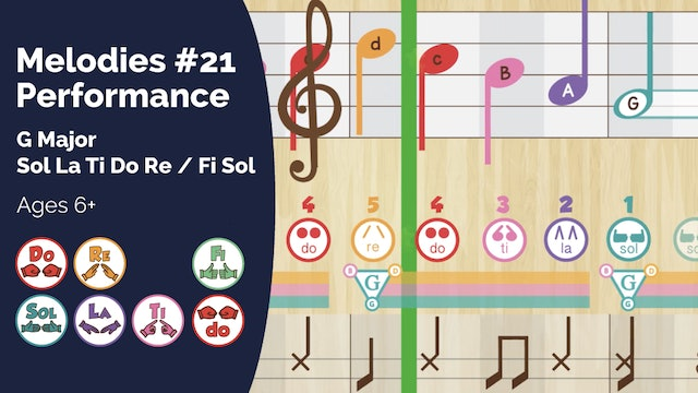 Performance Track (PsP Melodies #21)