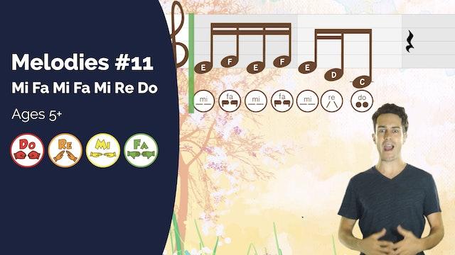 Mi Fa Mi Fa Mi Re Do (PsP Melodies #11)