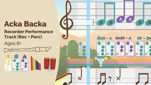 Mi Sol La- Acka Backa - Recorder Prod...
