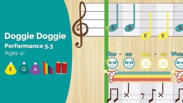 Doggie Doggie -- Mi Sol La -- (Perfor...