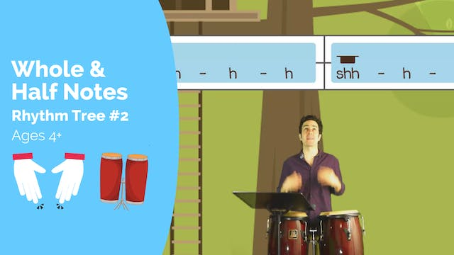 Whole and Half Notes (Kodaly Lesson #...