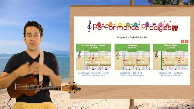 Ukulele Prodigies - Lesson #14 - G, GM7, G7 Chords