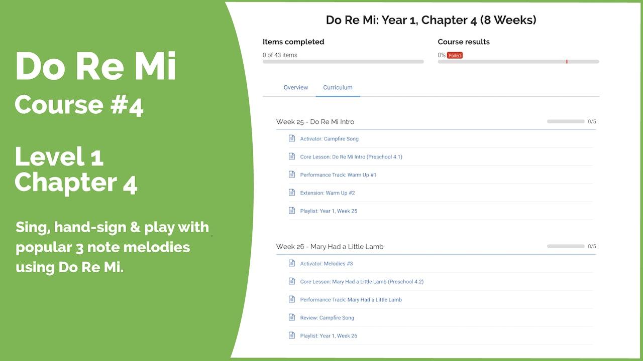 Teach Mode Course 4: Do Re Mi