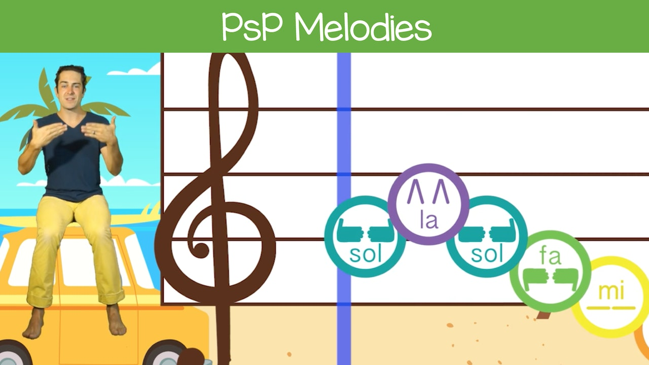 PSP Melodies (Ages 4+)