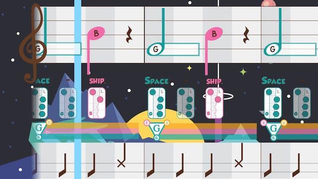 GAB- Spaceship - Recorder Prodigies