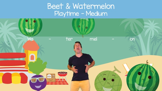 Beet & Watermelon (Playtime -- Medium)